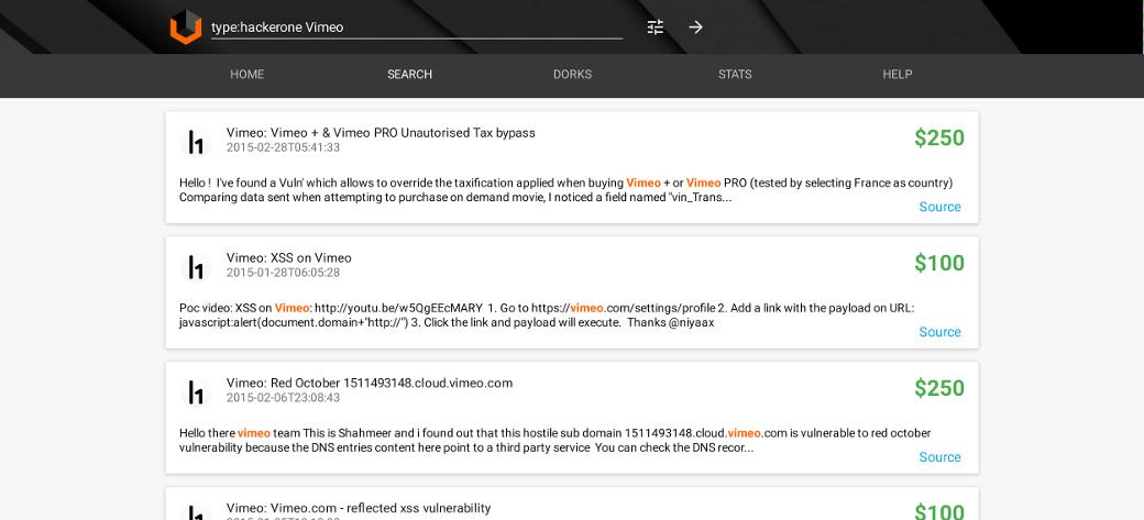 vimeo vulnerabilities