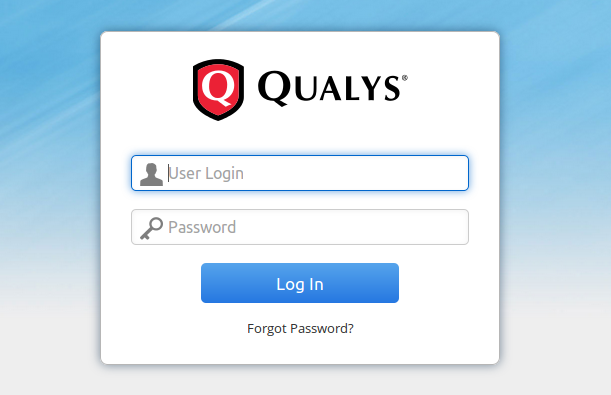 Qualys Login