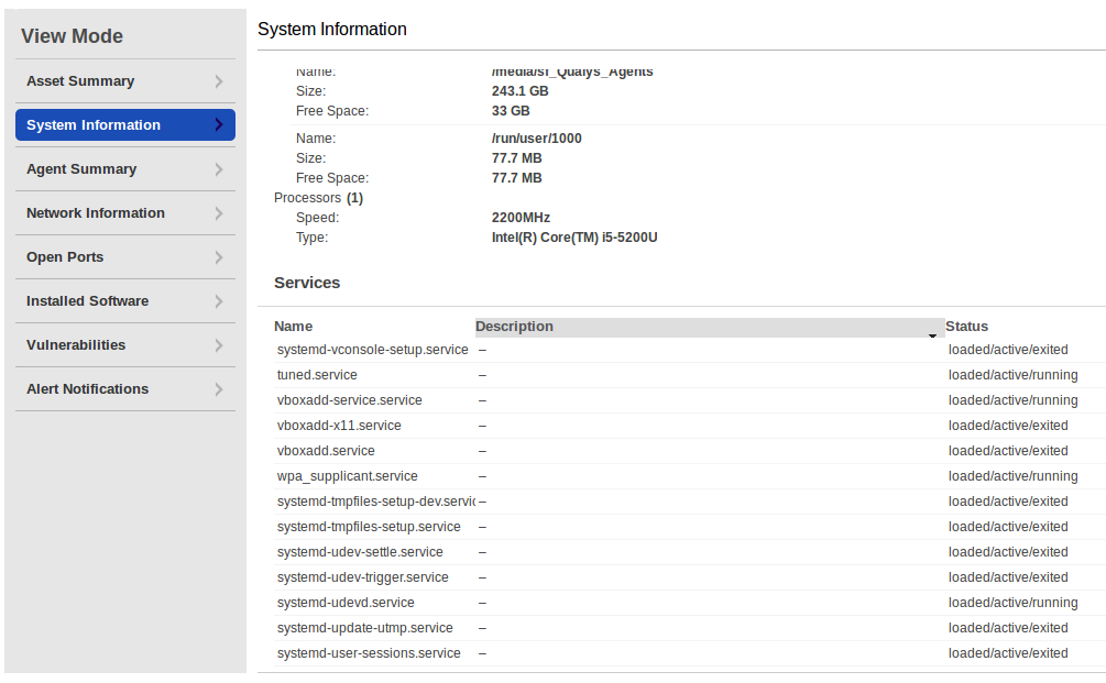 Linux System Information