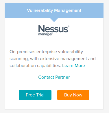 Nessus Manager
