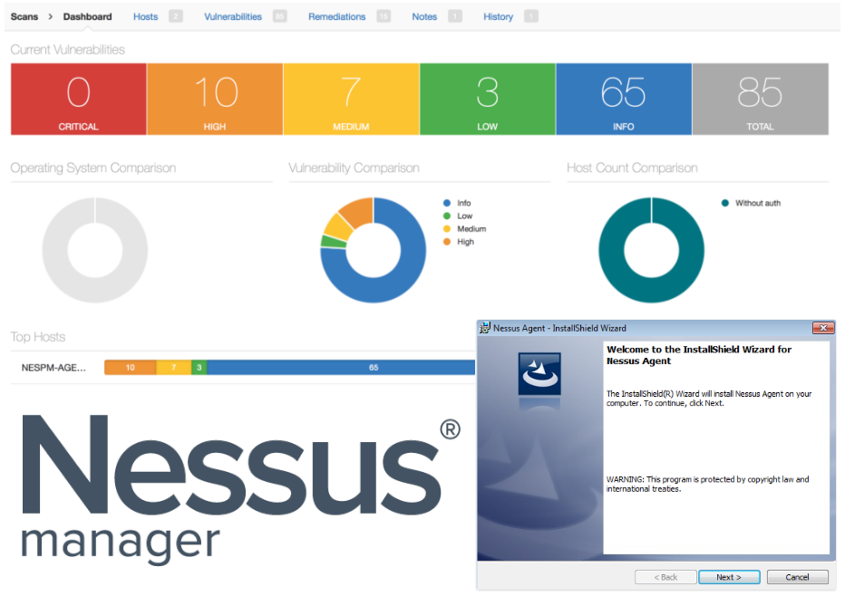 Nessus Manager and Agents