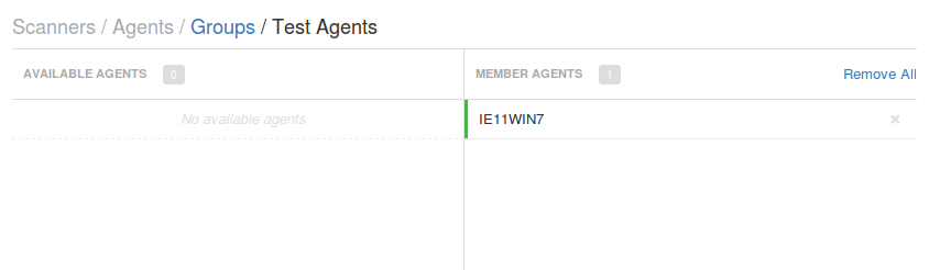New Agent was registered
