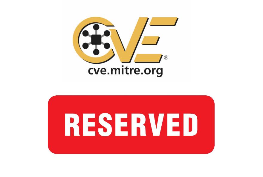 Reserved CVE