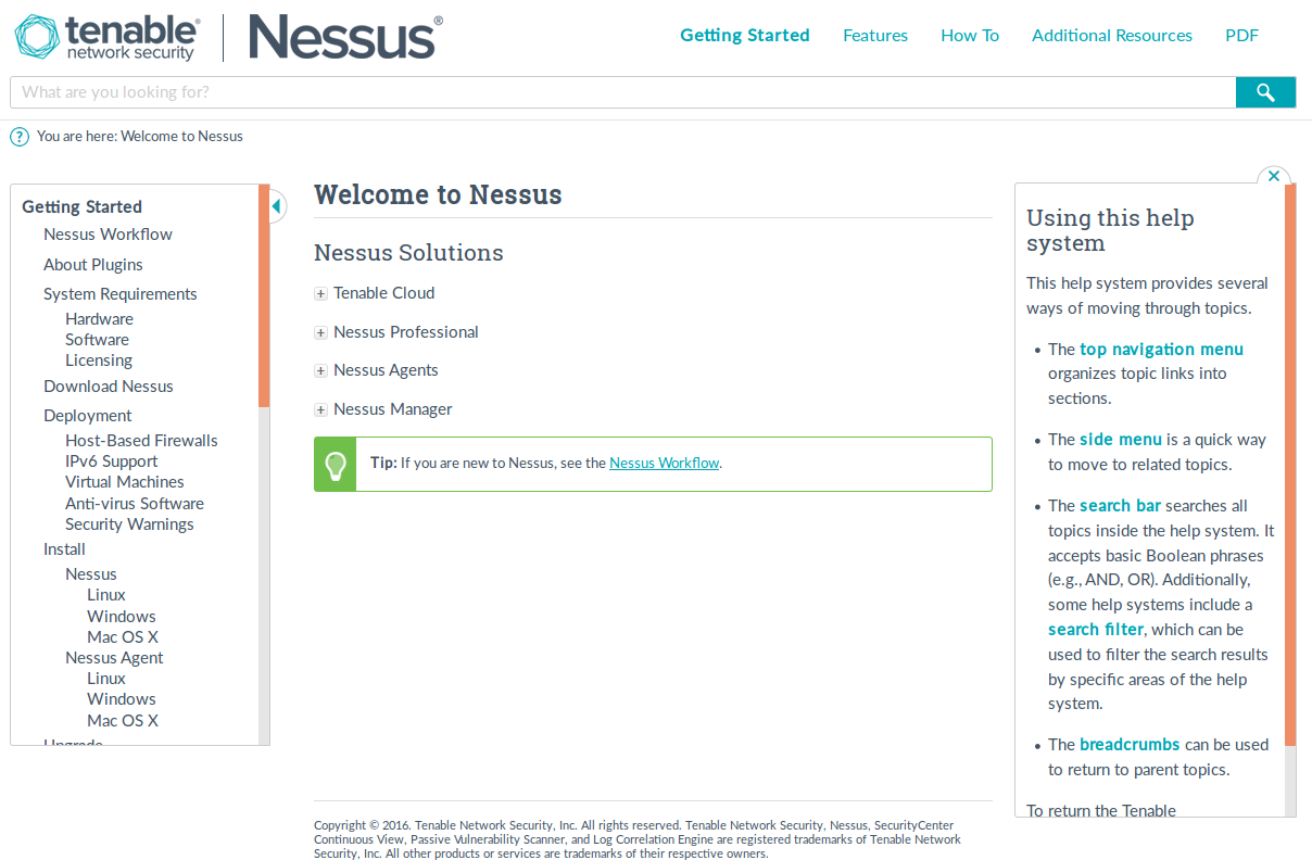 Nessus Manager and Agents | Alexander V  Leonov