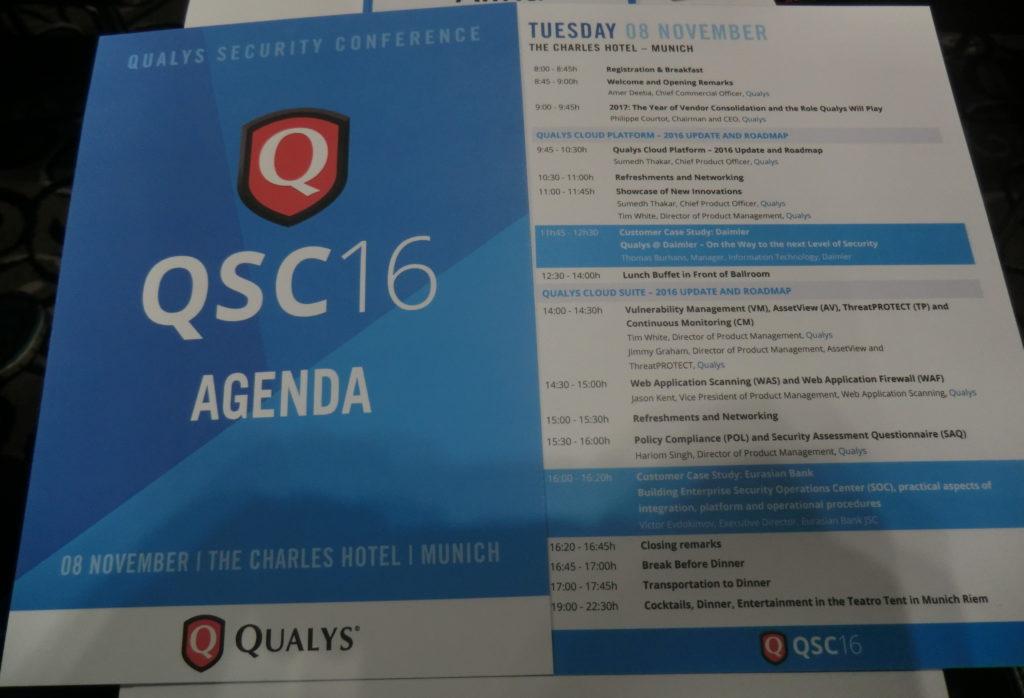 QSC Agenda