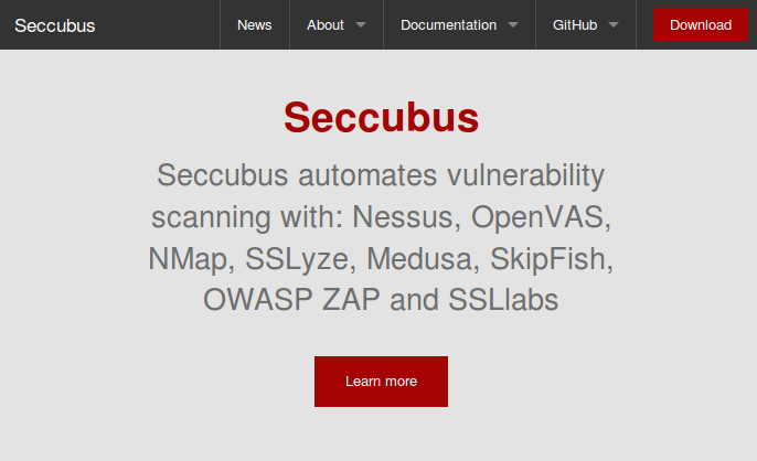 Seccubus website download
