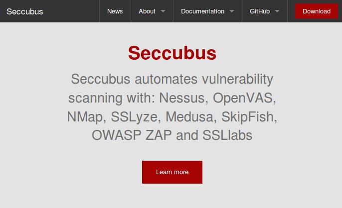 Seccubus installation and GUI overview | Alexander V  Leonov