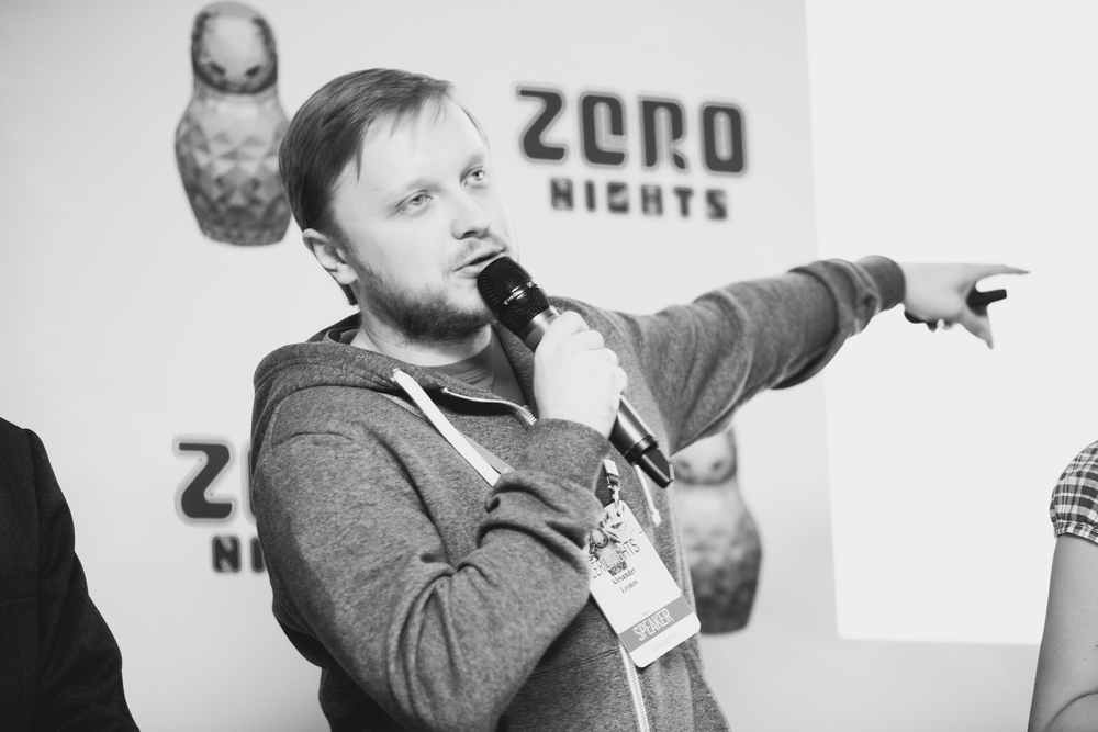 Alexander Leonov at ZeroNights 2016