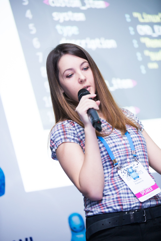 Ekaterina Pukhareva at ZeroNights 2016