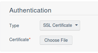 Tenable SecurityCenter Authentication SSL Certificate
