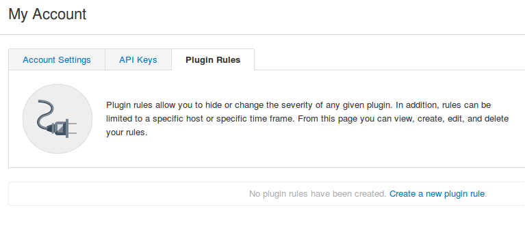 Tenable.io Plugin Rules
