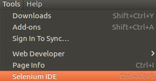 Selenium New Firefox Addon
