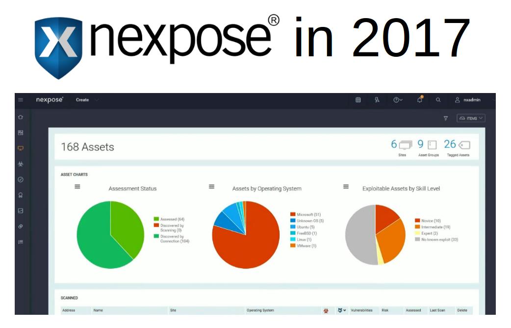 Rapid7 Nexpose in 2017