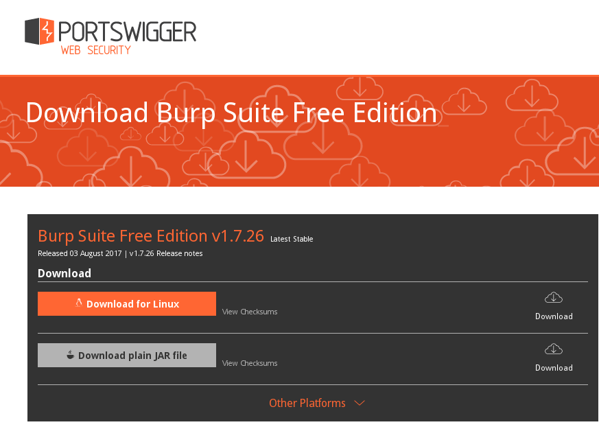 Burp Suite Free Edition