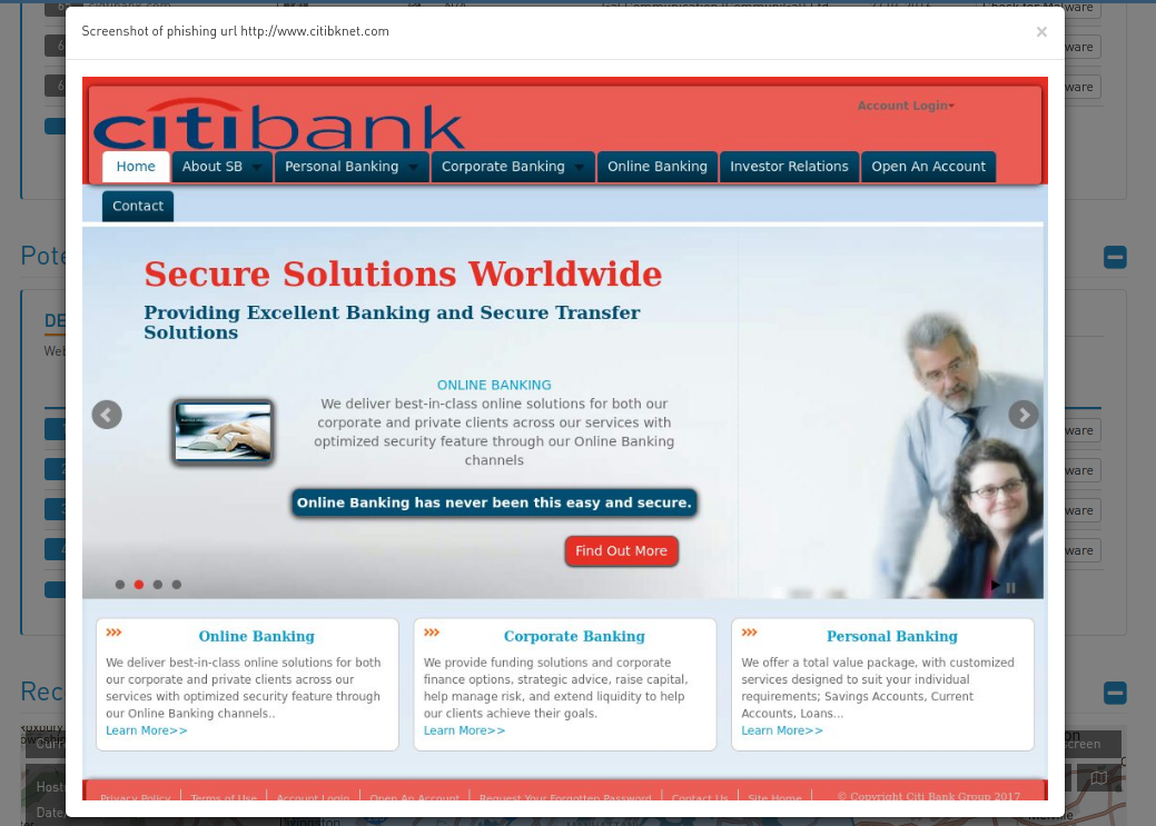 High-Tech Bridge Trademark Abuse Radar phishing screenshot