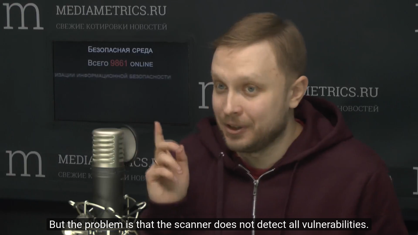 Scanner does not detect all vulnerabilities