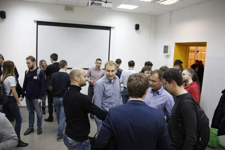 ISACA VM Meetup coffee break networking