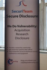 Beyond Security ZeroNights SecuriTeam