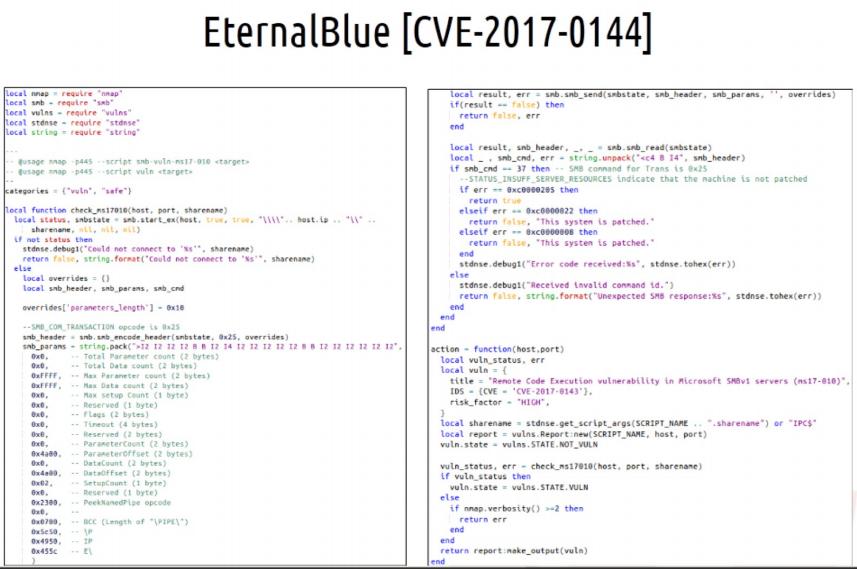 EternalBlue NSE script