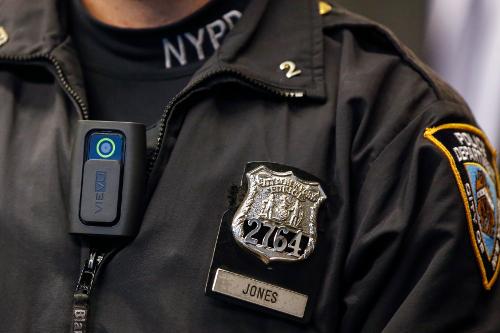 US police body camera