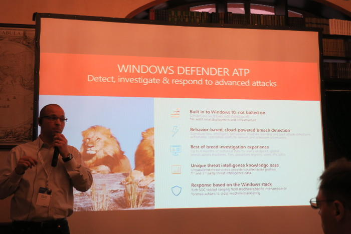 Microsoft security solutions against ransomware and APT | Alexander