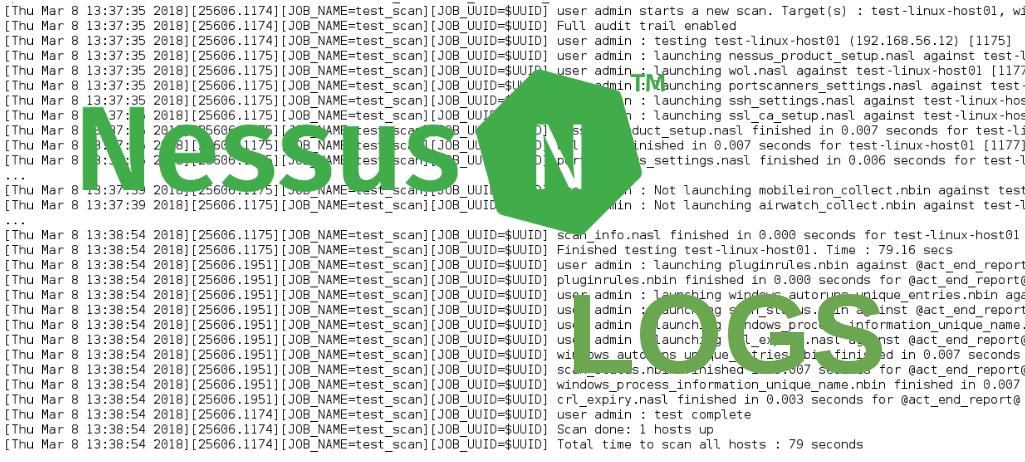 Nessus Logs
