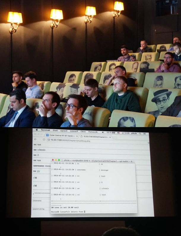 CyberCentral pre-conference training