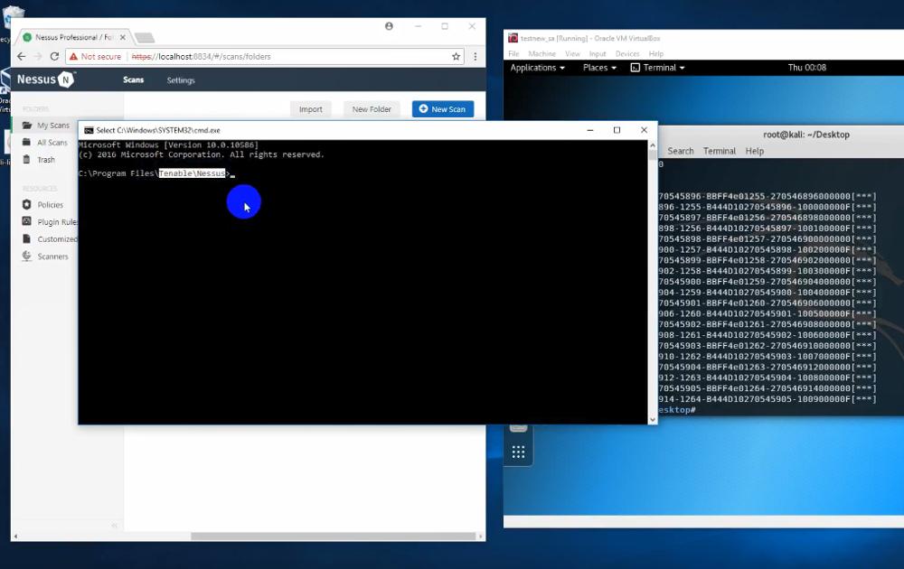 Nessus 7.0.3 RCE