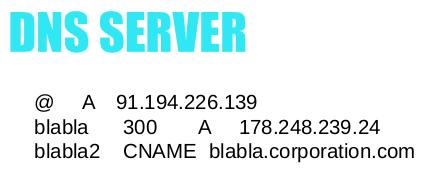 DNS Server data