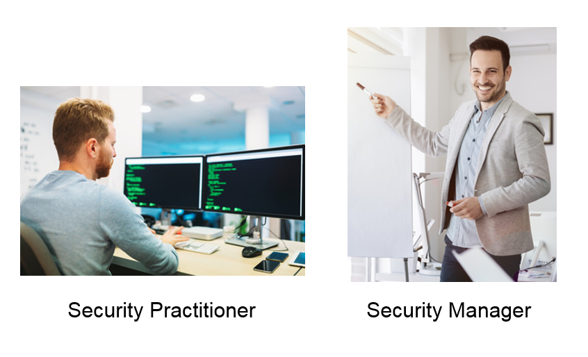 Information security practitioner and manager