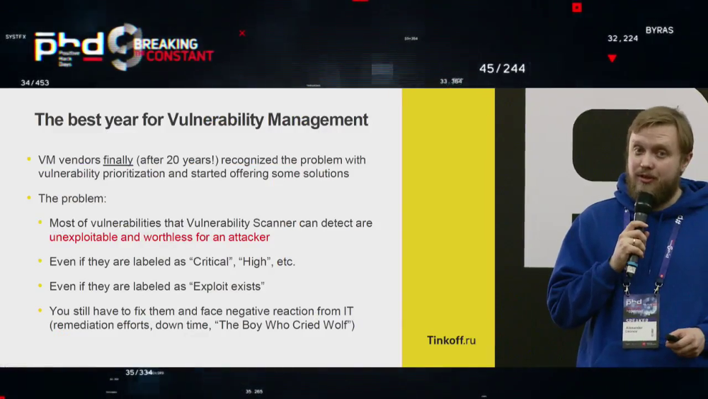 PHDays9 new ways of prioritizing vulnerabilities