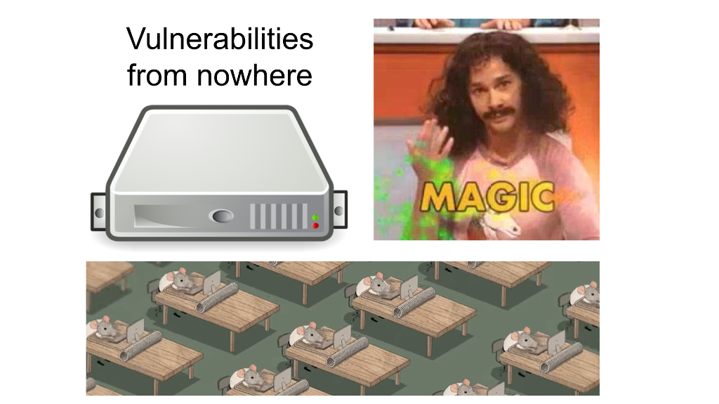 The most magnificent thing about Vulnerabilities and who is behind the magic