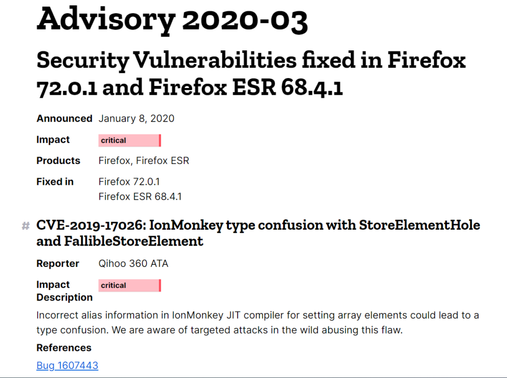 A pretty interesting vulnerability in  Firefox  (and Thunderbird)