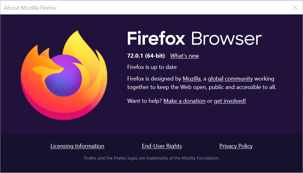 Firefox will ask you to update it after the next launch