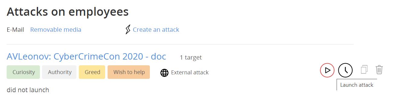A new attack