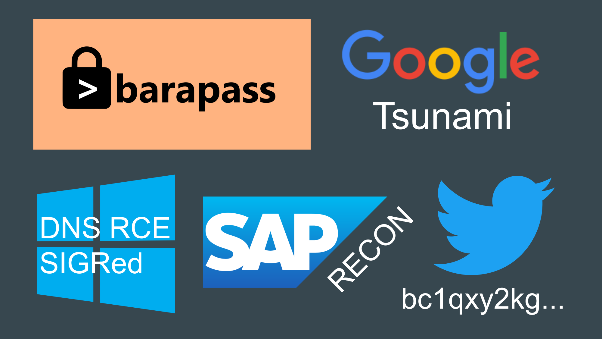 Barapass, Tsunami scanner, vulnerabilities in Windows DNS Server and SAP products, weird attack on Twitter