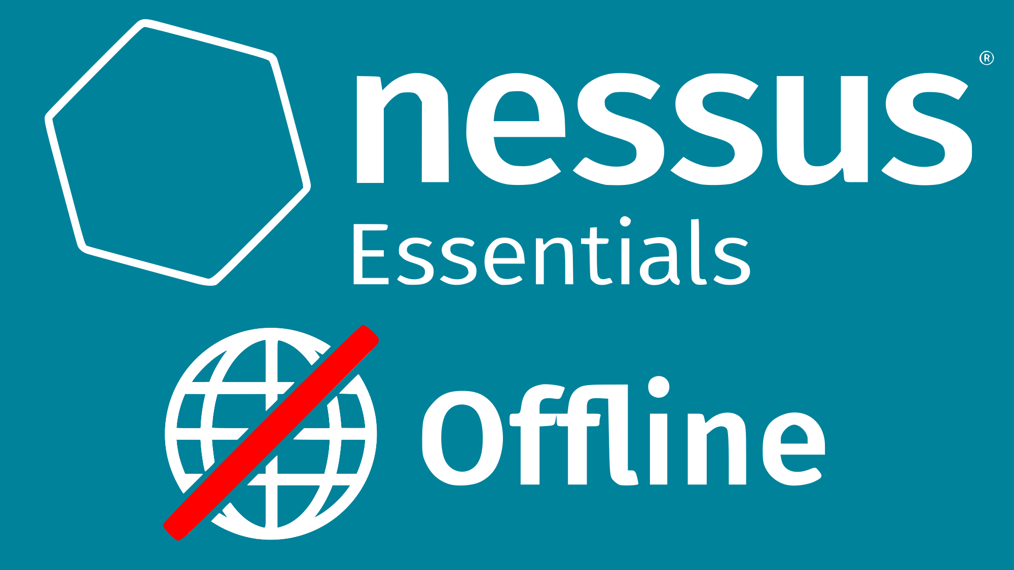 Nessus Essentials with offline updates